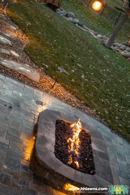 102820 Jan Mazgaj Landscape Paver Patio Company Landscaper Fire Pit Elkhorn Gretna Nebraska