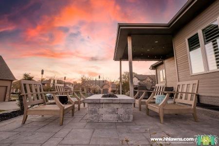 Christopher Slater Landscape Paver Patio Company Landscaper Fire Pit Elkhorn Gretna Nebraska