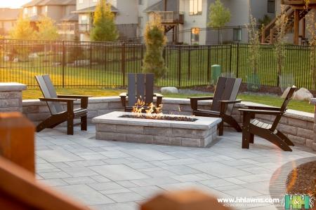 Hollis Backyard Landscape Omaha Landscaping Company H&H Lawn and Landscape Elkhorn, Nebraska Nate Olsen