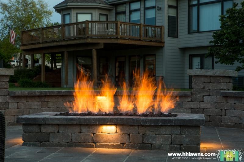 Dan Martin Outdoor Patio Landscape Project 2016 (H&H Lawn and Landscape)