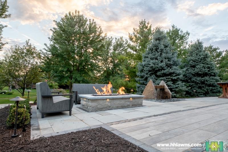 092418 Backyard Landscape H&H Lawn and Landscape