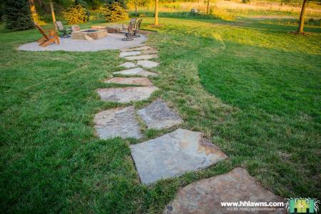 Jason and Ashley Kassmeier Outdoor Patio Landscape Project 2016 (H&H Lawn and Landscape)