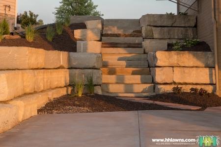 H&H Lawn and Landscape Hardscape Project